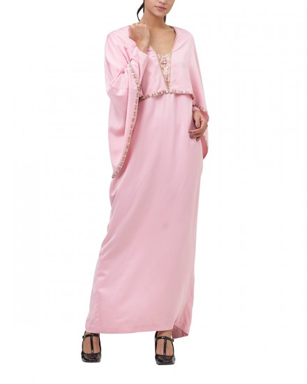 Northelyn Maxi Dress in Pastel Pink