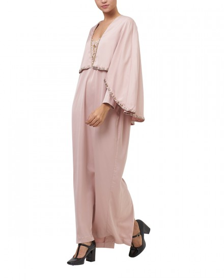 Northelyn Maxi Dress in Nude