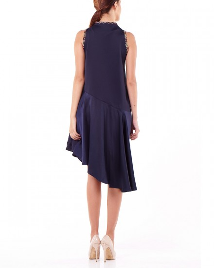 Lien Dress in Navy