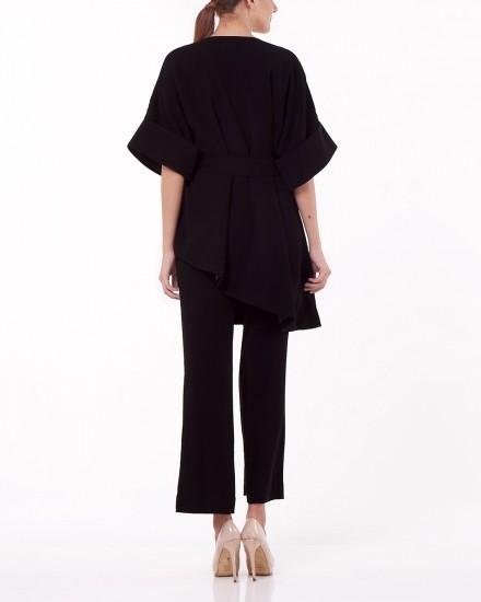 No.2 Kimono Top in Black