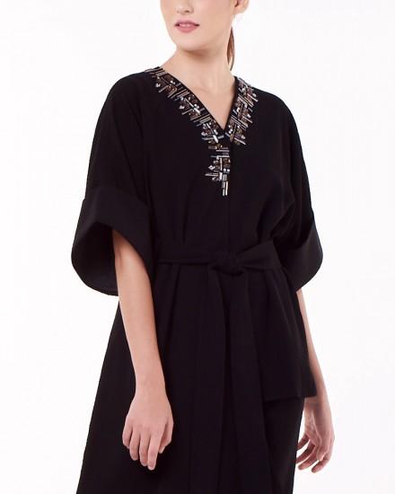 N2 Kimono Top in Black