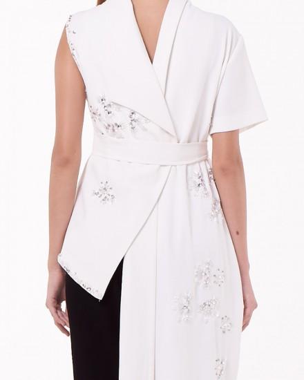 No.1 Inventive Vest in White
