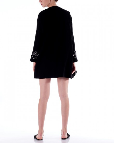 No.5 Embellished Blazer in Black