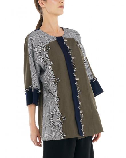 Alva Outerwear in Olive