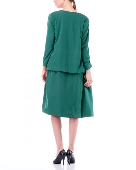 Noel Long Blazer in Green